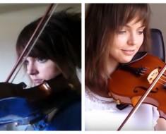 joven violinista - portada
