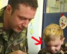 soldado ayuda a niño - portada