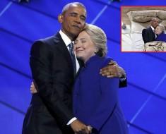 abrazo clinton obama - portada