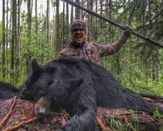 mata a oso con lanza - portada