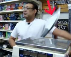 robo con espada - portada