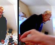 policia y anciano - portada